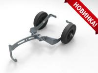 Транспортировочные тележки для снегохода (с крючками) ATV IRON 00.5.60