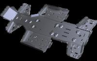 Комплект защиты днища CF ATV X6/Х5 Basic & Classic ATV IRON 02.1.10