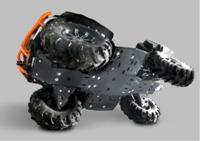 Комплект пластиковой защиты днища CF ATV X5 H.O./Х6 EPS/CFORCE 500 HO ATV IRON 03.1.10-P