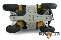 Комплект защиты днища STELS Guepard  ATV IRON 07.1.10