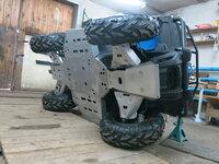 Комплект защиты днища CF ATV X4 ATV IRON 09.1.10