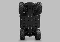 Комплект пластиковой защиты днища CF ATV 600 NEW ATV IRON 12.1.10-P
