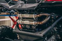 1337 Глушитель двойной RJWC для квадроцикла Can-Am Maverick X3 Turbo
