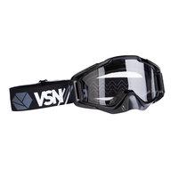 Очки квадроциклетные цвет черно-серо-белый VSN Goggle Black/Grey/White HB-301-Black/Gry/Wht