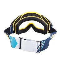 Очки квадроциклетные цвет голубо-желто-белый VSN Goggle Blue/Yellow/White HB301-Blu/Yell/Wht