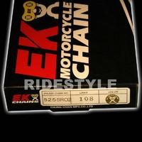 Мото цепь Ek Chain 525 sroz-108 gold
