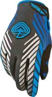 Перчатки зимние FLY RACING 907 GLOVES BLACK/BLUE SZ 7  367-64107