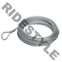 "Стальной трос для лебедки для квадроцикла KFI 3K Cable 3/16""X 46' ASSY ATV-CBL-3K"