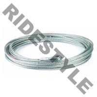 """Стальной трос для лебедки для квадроцикла Kfi U4500w cable 15/64"""" x 52' (utv-cbl-4kw)"""