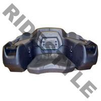 Кофр для квадроцикла задний жесткий с сиденьем из полигеля + подогрев рук Quadrax 2k Deluxe 19-2580
