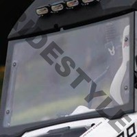 Ветровое стекло из термопластика с зеркалами квадроцикла Polaris Ranger Rzr Quadrax 19-972005