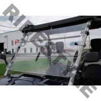 Ветровое стекло откидное из термопластика квадроцикла Yamaha Rhino Quadrax 19-972018