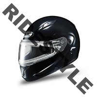 Снегоходный шлем с подогревом HJC CL-MAX II Black