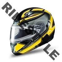 Снегоходный шлем с подогревом HJC CL-MAX II Yellow