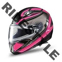 Снегоходный шлем с подогревом HJC CL-MAX II Pink
