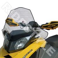 Ветровое стекло снегохода BRP/Ski-Doo REV XP высокое c легкой тонировкой Powermadd COBRA 13430/10-10937