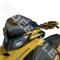 Ветровое стекло снегохода BRP/Ski-Doo REV XP среднее Powermadd COBRA 13421/10-10938