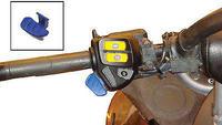 Кнопка света левого пульта Ski-Doo REV XP для пультов 515175789, 515176062, 515175771, 515177028, 605356204, 605354729, 515176504, 515175772, 515176061, SPI SM-01229, 27-0151