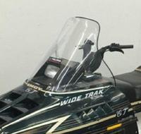 Ветровое стекло снегохода Polaris WideTrak GT, Widetrak LX, 5431630, 12-9882