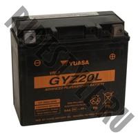 Аккумулятор квадроцикла/снегохода/мотоцикла BRP/CanAm/Honda/Yamaha/Kawasaki/Suzuki/Kymco GYZ20L
