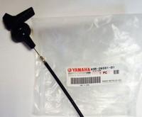Оригинальный трос подсоса для снегохода Yamaha VK540, 2000-2005, 83R-26331-01-00