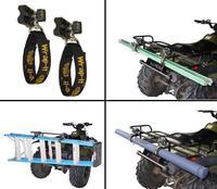Держатели, стропы гибкие для квадроцикла, снегохода ALL RITE WRAP-IT, WR1 150812