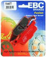 Тормозные колодки карбоновые передние/задние левые Yamaha Grizzly 700/550, Raptor 250 3B4-W0045-10-00/3B4-W0046-00-00 EBC FA445TT