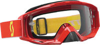 Очки кроссовые SCOTT TYRANT GOGGLE RED W/CLEAR LENS 51-1632