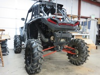Шноркель Polaris RZR Turbo 2016+ Warrior Riser WR0167