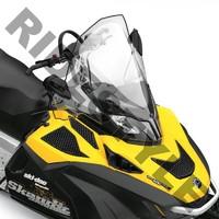 Ветровое стекло снегохода BRP/Ski-Doo Skandic/EXPEDITION/TUNDRA WT/SWT/LE/SE 550/600/1200 860200555/860201000/860200226/860200227 12-9859-1