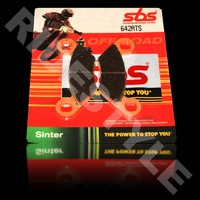 Тормозные колодки квадроцикла, передние/задние Sinter SBS 642ATS