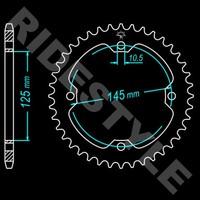 Звезда квадроцикла задняя JT 38 зубов jtr1857 для Yamaha Raptor YFM700, YFM350, YFM250, YFZ450 1210-0025