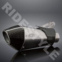 Глушитель мотоцикла Yoshimura R55-LE титан c карбоновым наконечником BMW S1000RR 2010-12 1520487