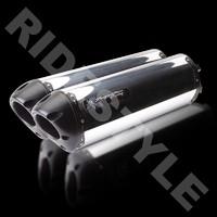 Глушители мотоцикла Two Brothers M2 Black Edition алюминий Hayabusa '99-07 005-910406DM-B