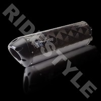 Глушитель мотоцикла Two Brothers M2 Black Edition карбон GSX-R 600/750 '11-13 005-3040407V-B