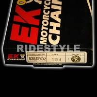 Мото цепь Ek Chain 525 sroz-124/G GOLD