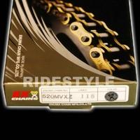 Мото цепь Ek Chain 520 zzz-114 усиленная