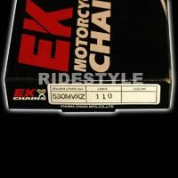 Мото цепь Ek Chain 530 mvxz-112 звеньев