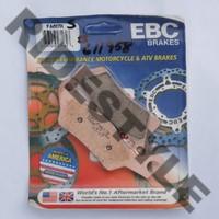 Тормозные колодки квадроцикла передние/задние правые BRP/CanAm 705601014 Outlander/Renegade 400/500/650/800/1000 EBC FA617R