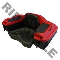Кофр для квадроцикла задний жесткий c сидением из полигеля Quadrax 2000series Cargo Box Red 19-1282
