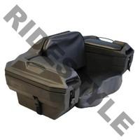 Кофр для квадроцикла задний жесткий c сидением из кожи Quadrax 2000series Cargo Box Black 19-1180