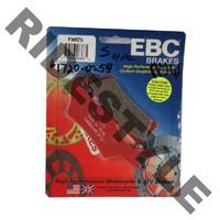Тормозные колодки квадроцикла передние/задние правые BRP/CanAm 705601014 Outlander/Renegade 400/500/650/800/1000 EBC FA617X