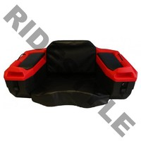 Кофр для квадроцикла задний жесткий c сидением из кожи Quadrax 2000series Cargo Box Red 19-1182