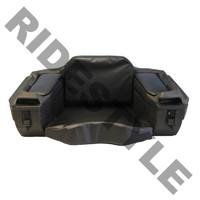 """Кофр для квадроцикла задний жесткий c сидением из кожи Quadrax """"B"""" Series Cargo Box Black 19-1081"""