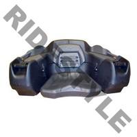 Кофр для квадроцикла задний жесткий c сидением из полигеля Quadrax 2K Standard Black 19-2560