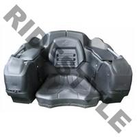 Кофр для квадроцикла задний жесткий с сиденьем из полигеля + защита рук quadrax 2k deluxe black 19-2599