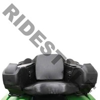 Кофр для квадроцикла задний жесткий с сиденьем из кожи + защита рук Quadrax 2K Standard 19-2090