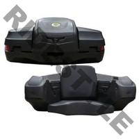 Кофр для квадроцикла задний жесткий с сиденьем из кожи Quadrax Elite Standard Black 19-3079