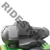 Кофр для квадроцикла задний жесткий с сиденьем из кожи Quadrax Elite Deluxe Black 19-3080