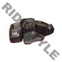 Кофр для квадроцикла задний жесткий с сиденьем из полигеля Quadrax Elite Deluxe BLACK 19-3580